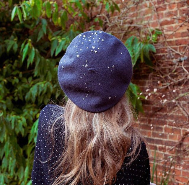5873aca265e07 Becky Star Studded Beret – Crown and Glory