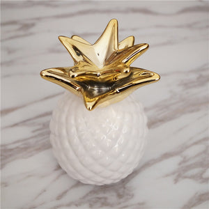 Ceramic Pineapple Piggy Bank