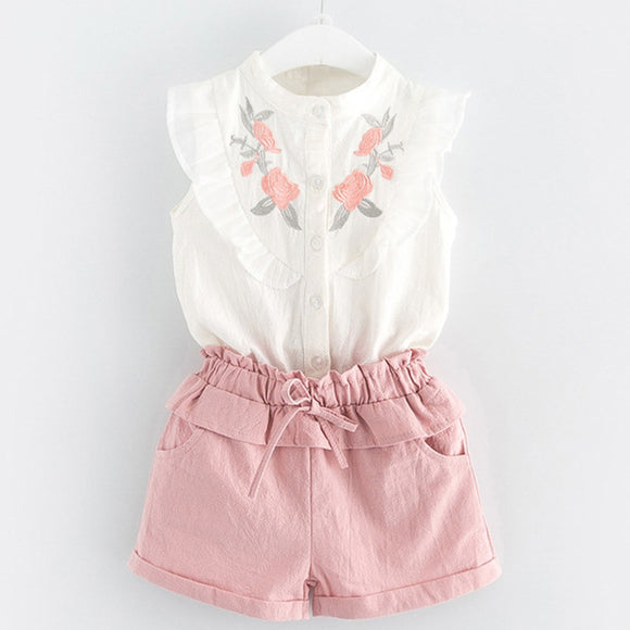 Summer(Different colors/styles)2pc Set 3t-7