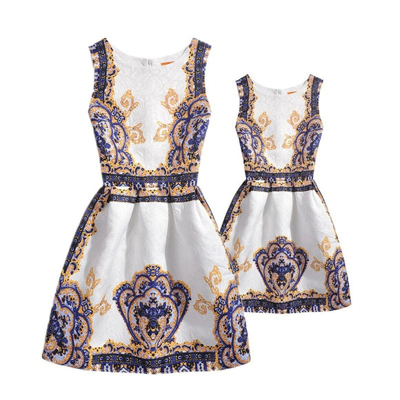 Mother And Daughter Party Dress