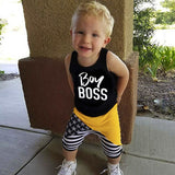 """Boy Boss"" 2pc Set"
