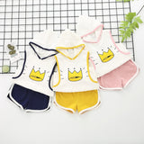 Crown Print 2pc Set