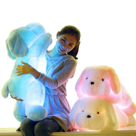 Luminous Dog Plush Pillow 50cm
