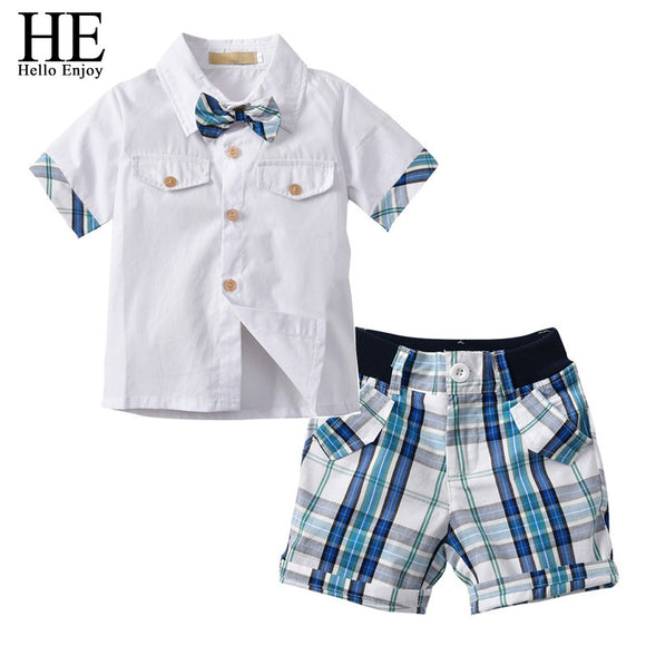 Gentleman Bow Tie Shorts Set (MORE COLORS)