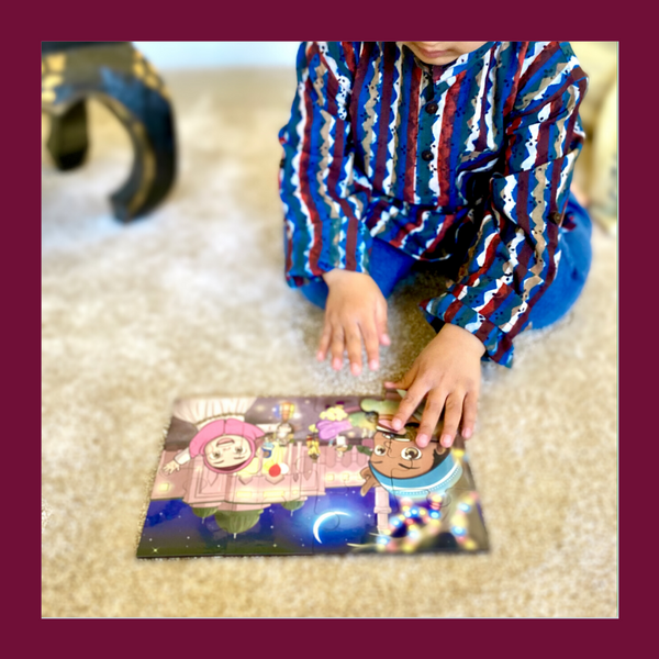 Ramadan/ Eid Kids Puzzle / Islamic Toy