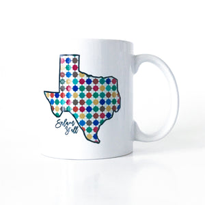 Salam y'all Texas Mug