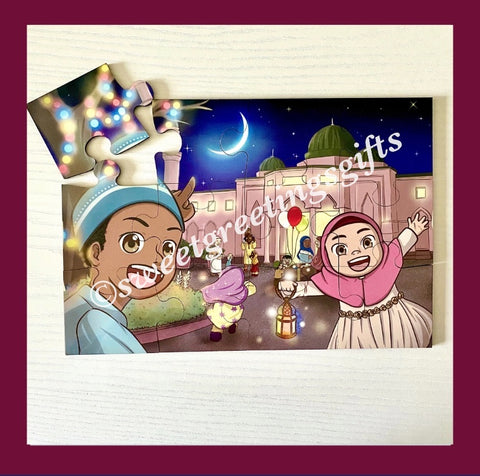 Ramadan Kids Puzzle / Islamic Toy