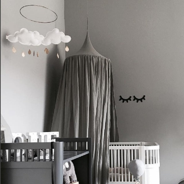 Nordic Style Hanging Bed Curtain