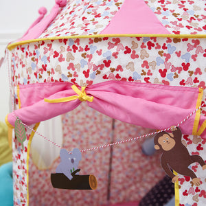 Princess  / Prince Castle Play Tent  -  Pink or Blue