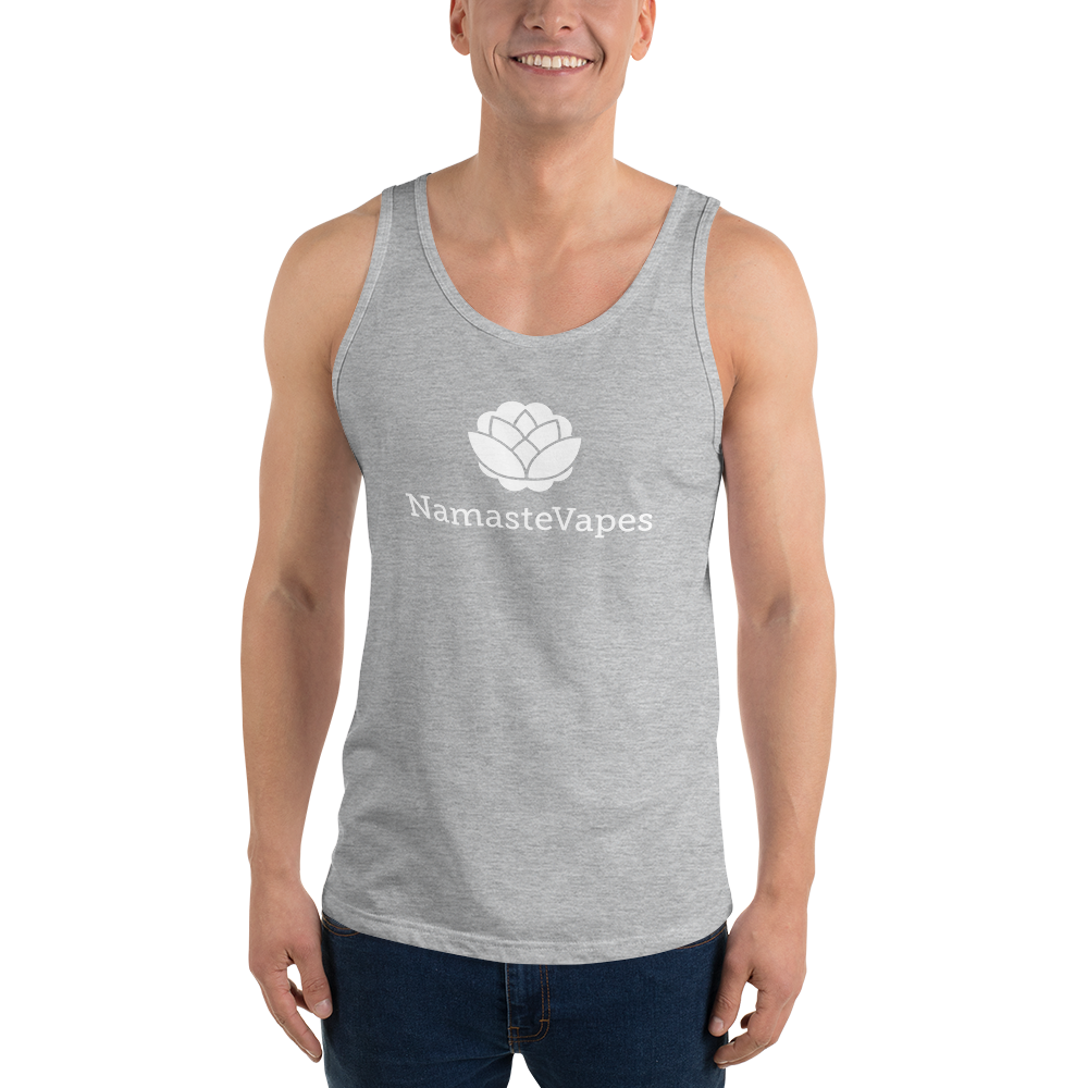 Retro NamasteVapes Unisex  Tank Top