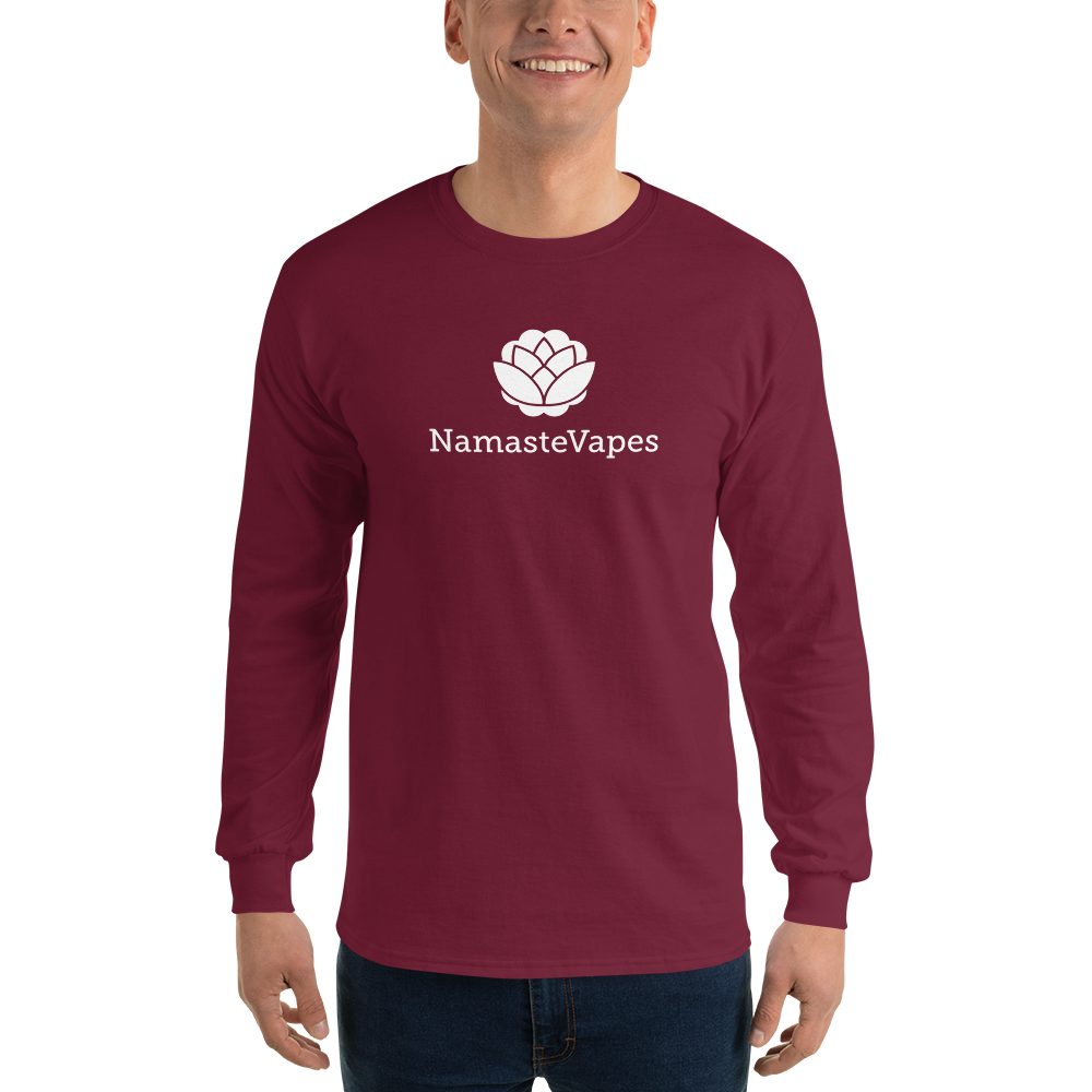 Retro NamasteVapes Retro Long Sleeve T-Shirt