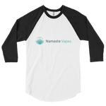 NamasteVapes 3/4 sleeve raglan shirt