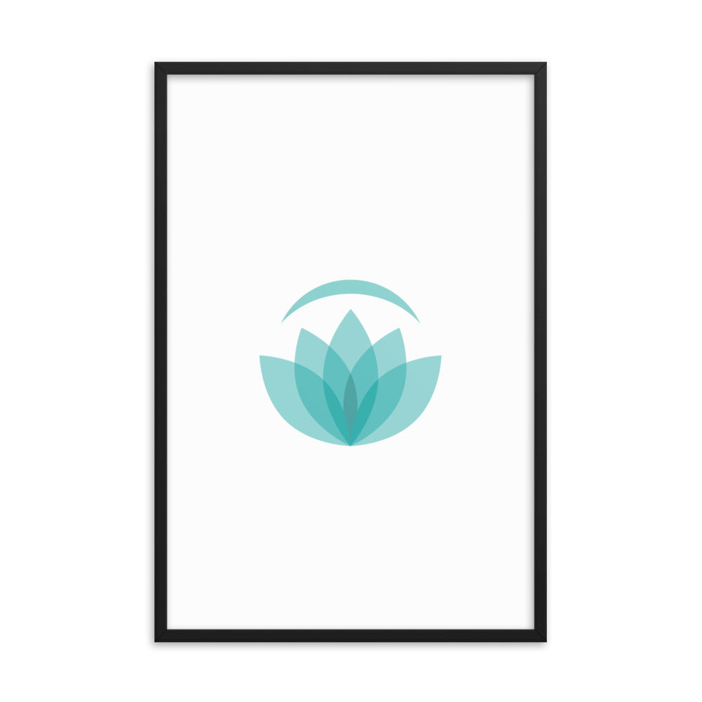 Namaste Logo - Framed Photo