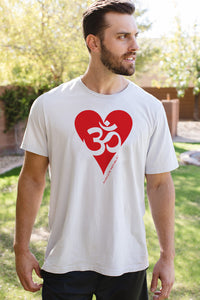 Namaste Republic Om Love Tee