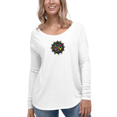 Namaste Republic Heart Chakra Ladies' Long Sleeve Tee
