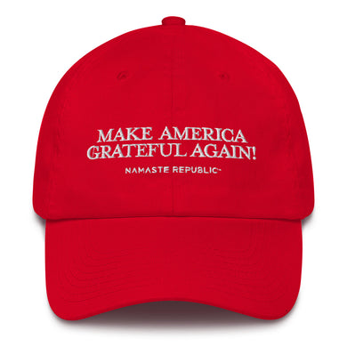 Namaste Republic Make America Grateful Again Cap