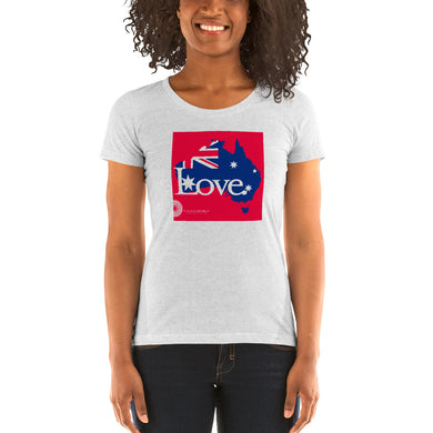 Namaste Republic Love Australia Relief Tee