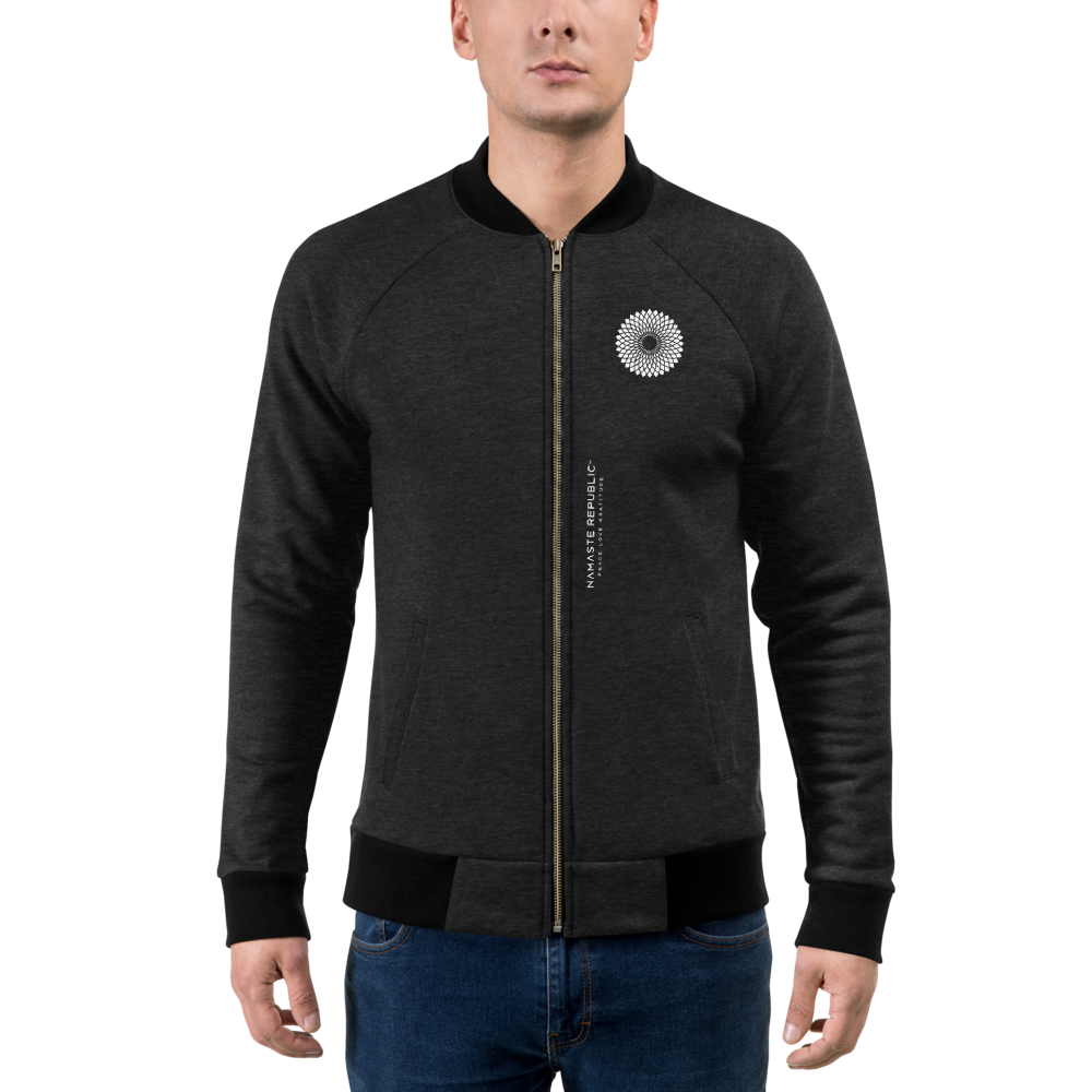 Namaste Republic Lotus Bomber Jacket