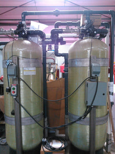 (2) Two Water Filter Tank