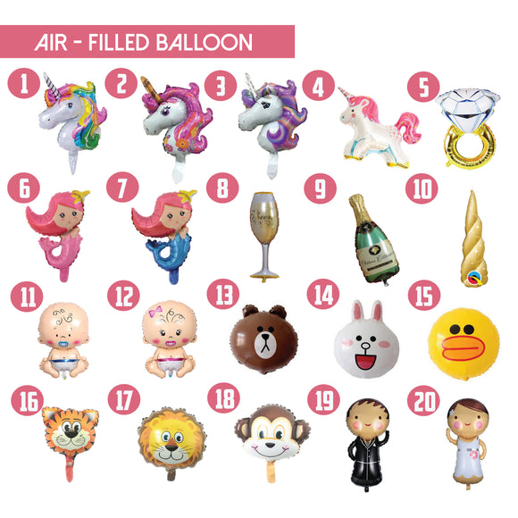 Foil Balloons For All Ocassions