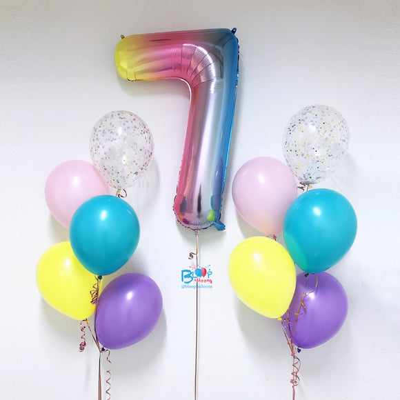 Latex Balloon Package