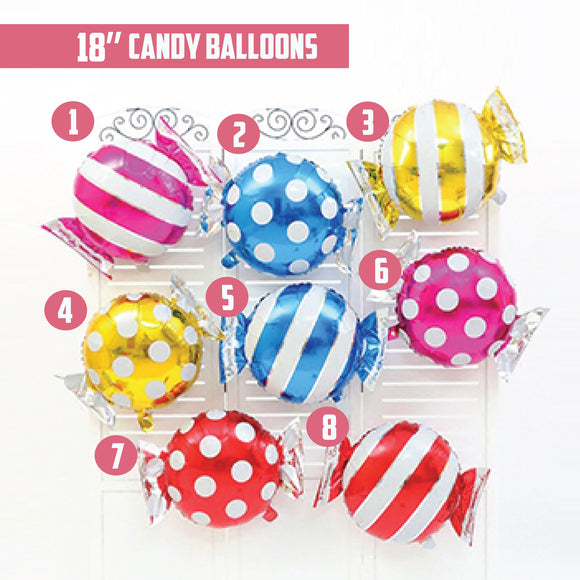 18'' Candy Foil Balloon bloop-balloons.myshopify.com