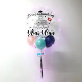 24'' personalised balloon for graduation bloop-balloons.myshopify.com