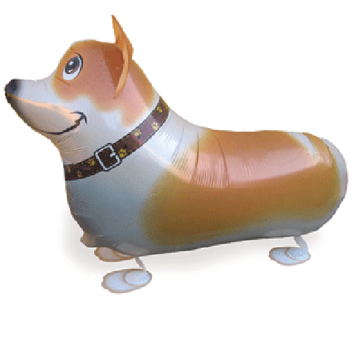 Walking Pet Animal Balloon - Corgi
