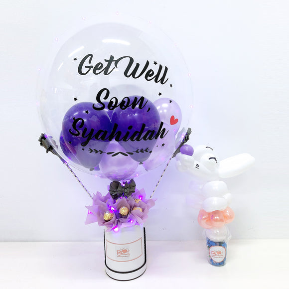 [SMALL] Hot Air Balloon Ferreo Rocher Box - Get Well Soon bloop-balloons.myshopify.com