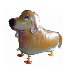 Walking Pet Animal Balloon - Golden Retriever