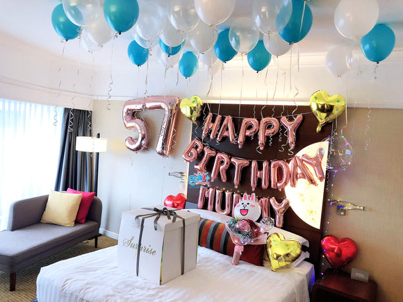 Hotel Room Decoration [Package 4] bloop-balloons.myshopify.com