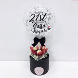 5'' Personalised Balloon Ferreo Rocher Mini Box