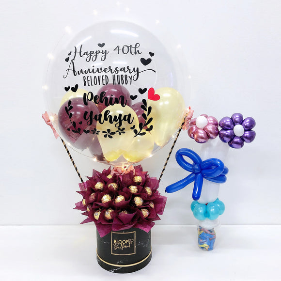 [SUPER JUMBO] Hot Air Balloon Ferreo Rocher Box