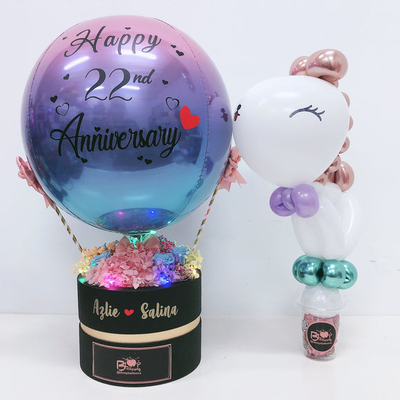 [SMALL+] Hot Air Balloon Flower Box bloop-balloons.myshopify.com