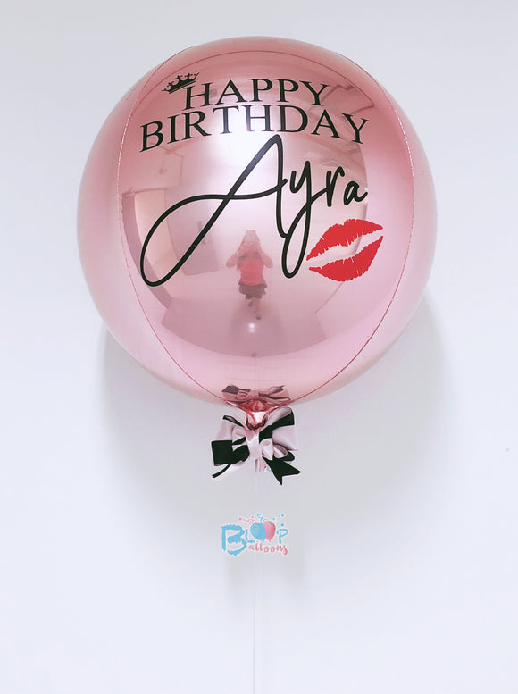 Personalised Orbz Balloons bloop-balloons.myshopify.com