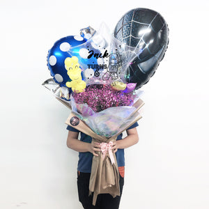 Super Jumbo Flower Balloon Bouquet! bloop-balloons.myshopify.com
