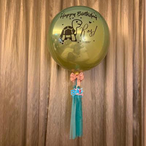 Personalised Ombre Orbz Balloons bloop-balloons.myshopify.com