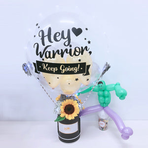 [SMALL] Hot Air Balloon Flower Box - Get Well Soon bloop-balloons.myshopify.com