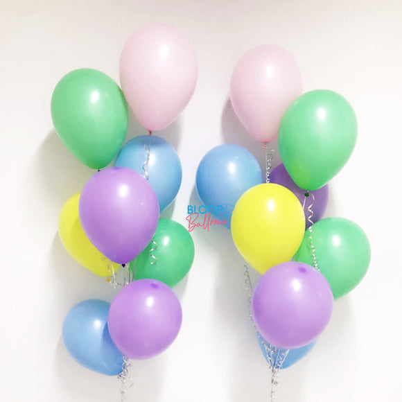 Individual 12'' Helium Normal Latex Balloon