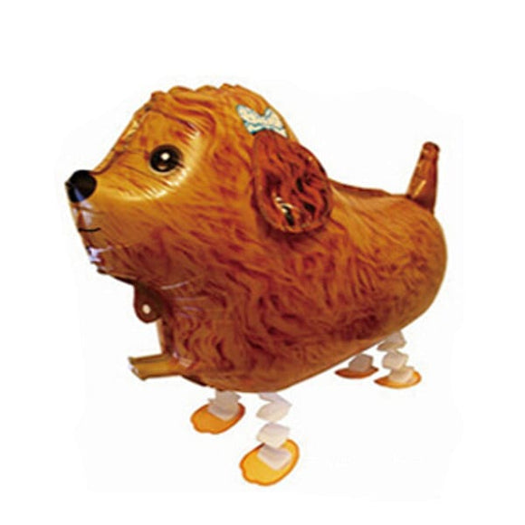 Walking Pet Animal Balloon - Poodle Doggy