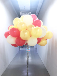 60pcs In A Bundle - 12'' Helium Latex Balloon Package bloop-balloons.myshopify.com