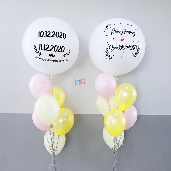 36'' Latex Helium Balloon For Wedding