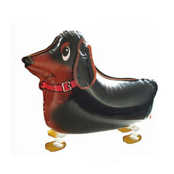 Walking Pet Animal Balloon - Sausage Dog