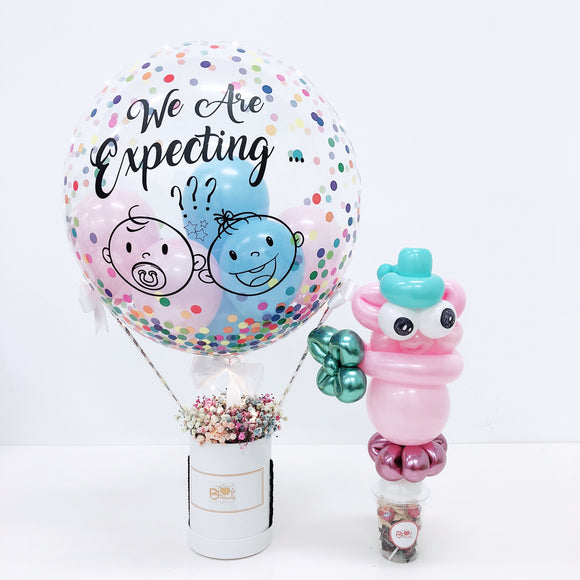 [SMALL] Hot Air Balloon Flower Box bloop-balloons.myshopify.com