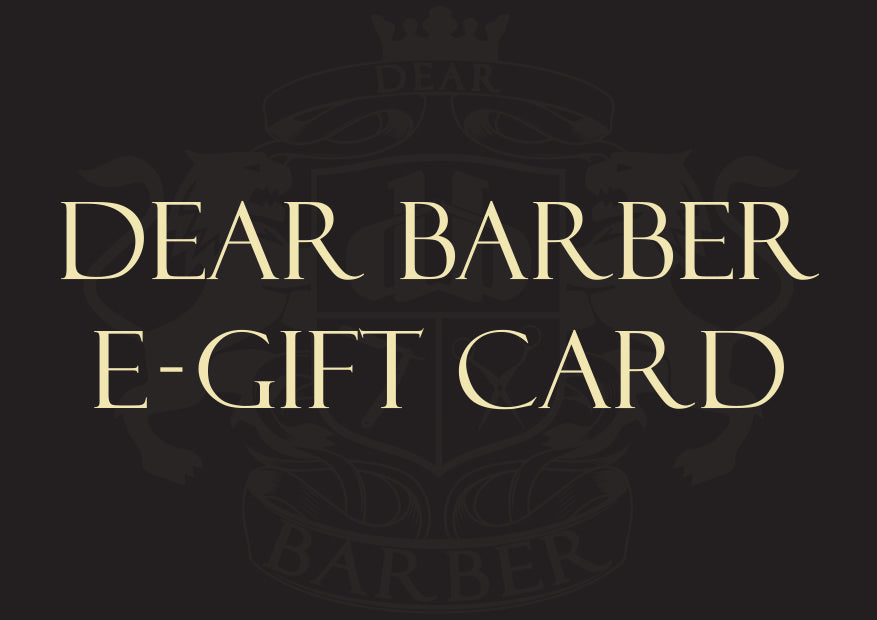 Dear Barber Gift Card