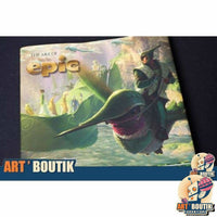 Artbook The Art of Epic- Bluesky - Senzu Store
