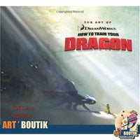 Artbook The Art of How to Train Your Dragon - Dreamworks - Senzu Store