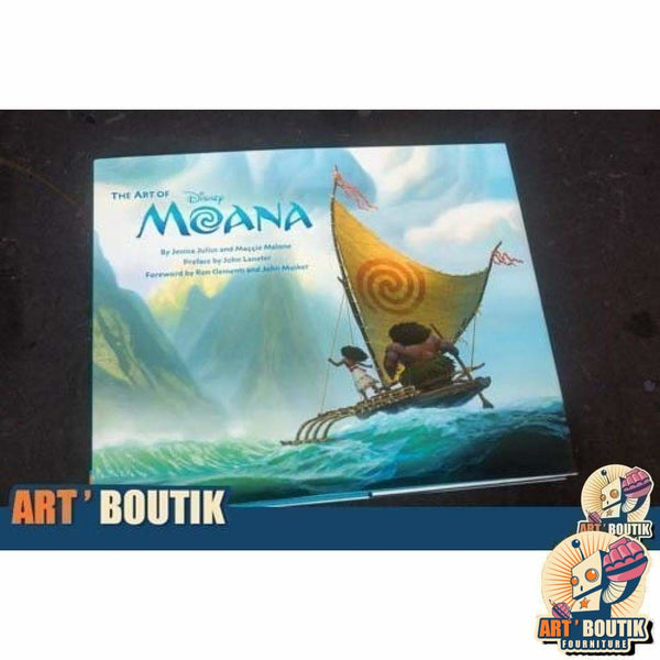 Artbook The Art of Moana - Disney - Senzu Store