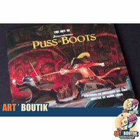 Artbook The Art of Puss in Boots DreamWorks - Senzu Store