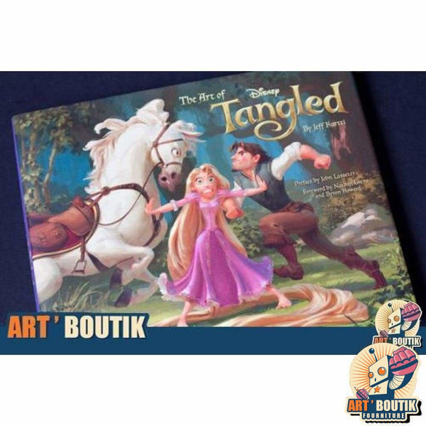 Artbook The Art of Tangled -Disney - Senzu Store